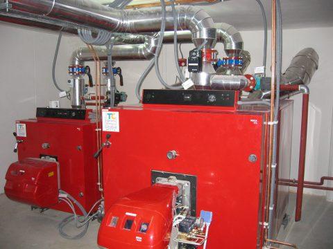 ITC nueva sala de calderas de gasoleo