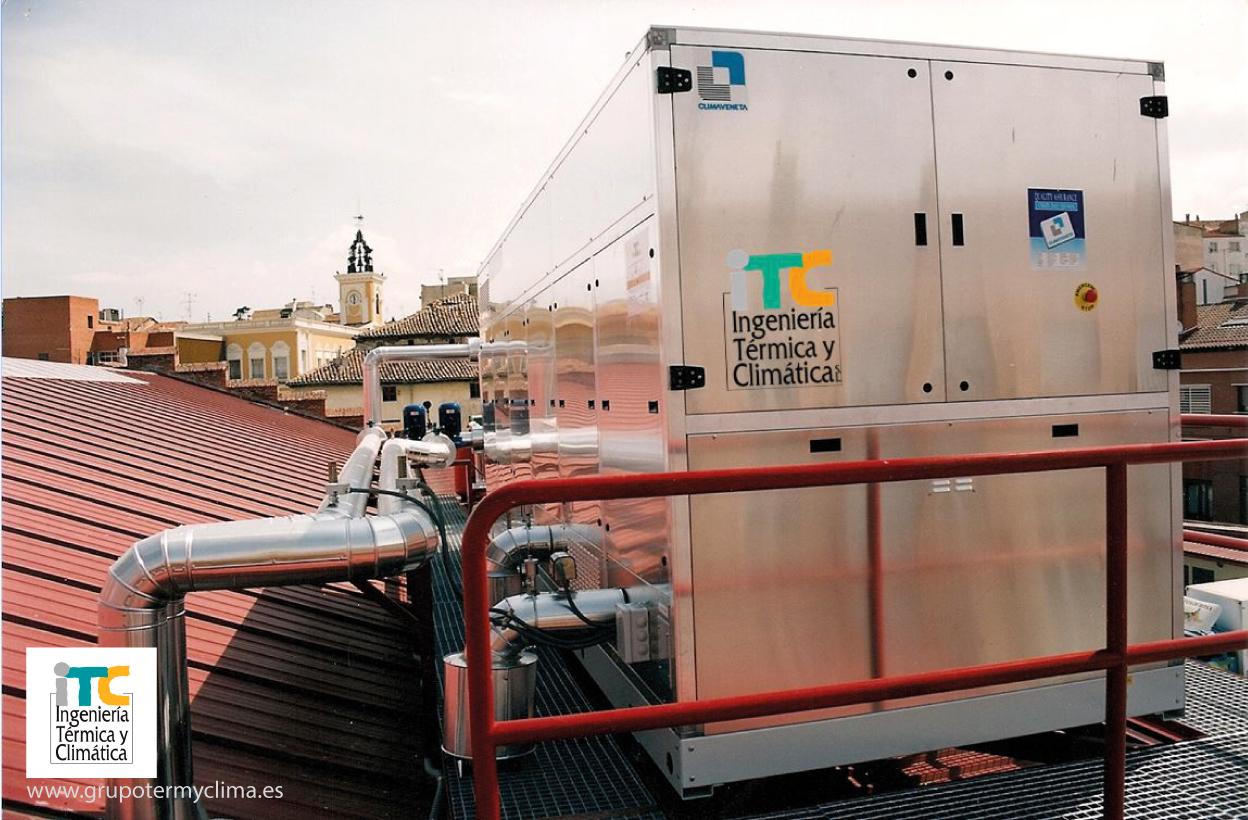 Transformaciones de salas de calderas a gas natural itc ingenieria termica y climatica for Oficina gas natural fenosa guadalajara